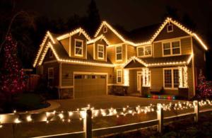 Vánoční venkovní LED řetězy