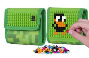 peněženka Minecraft, silikonový panel, kvalitní materiál, vyrobenu z neoprenu